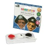 SNAZAROO PIRATE HALLOWEEN FACE PAINTING KIT FANCY DRESS COSTUME ACCESSORY
